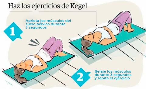 ejercicio de kegel incontinencia urinaria